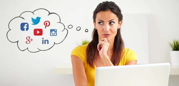 Choose the right social media