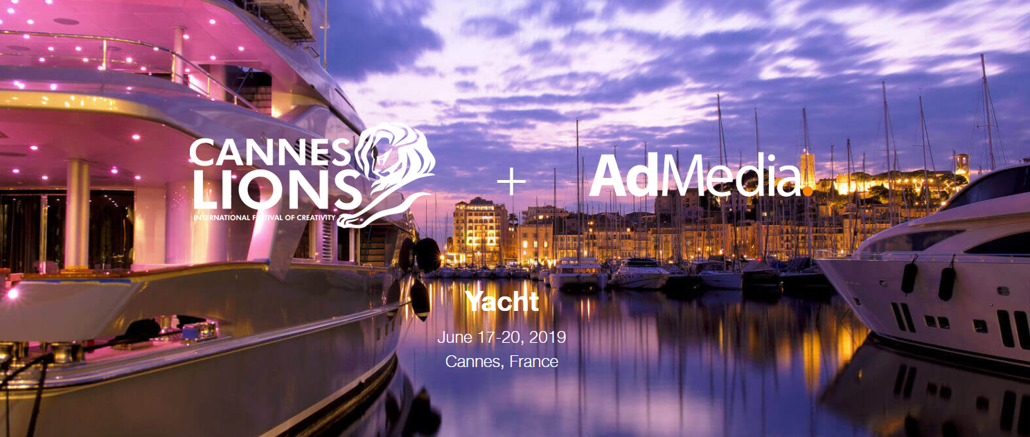 Join us abroad at Cannes Lions International Festival of Creativity 2019
