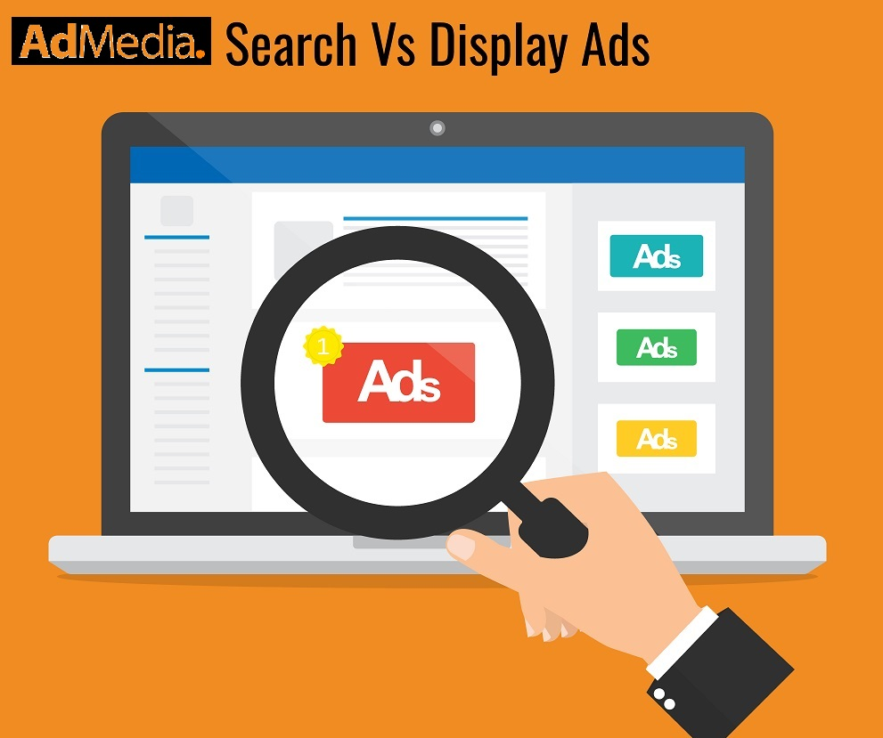 Search Ads vs Display Ads